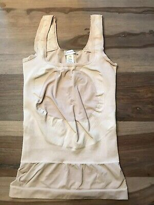 2246be6711e2b BLANQI Everyday Maternity Underbust Belly Support Tank Beige Tan Size XSmall