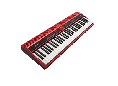 Roland Go:keys 61-Key Keyboard Music Looping Synthesizer Go-61K Red