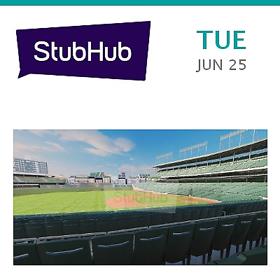 Atlanta Braves at Chicago Cubs Tickets (Cubs Umbrella Giveaway) Tic... - Chicago