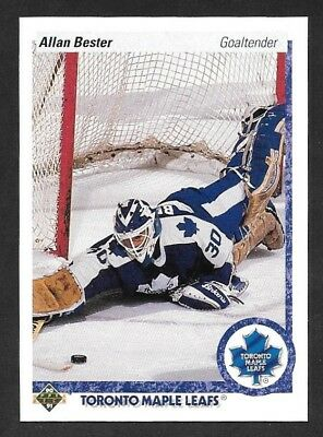 1990-91 Upper Deck Hockey ,  # 241 , Allan Bester , Toronto Maple Leafs