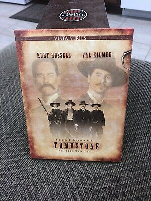 Tombstone (DVD, 1997) Special Edition Vista Series