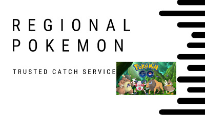 Pokemon Go! Are you looking for a regional species for your Pokedex? FAST!