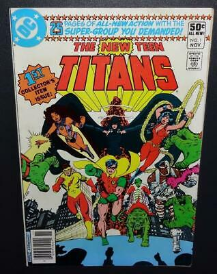 The New Teen Titans #1 1980 7.0 1st app Changeling; Newsstand variant;TeamBegins
