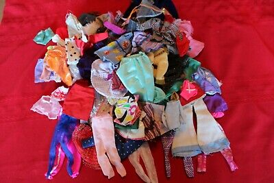 Vintage and Contemporary Barbie Skipper Stacie Huge Lot of Clothing