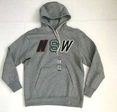 MEN'S NIKE FC Crew Sweatshirt Carbon Heather Size XL (802427