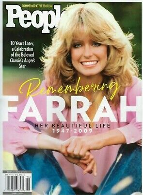 Farrah Fawcett People Magazine  New 2019 Commemorative Edition  Charlies Angels