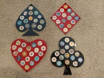 65 $1 Las Vegas Casino Poker Chips With Displays