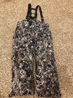 eb1230f7b4c31 CABELAS MT050 WHITETAIL Extreme Insulated Hunting Bibs Optifade Camo ...