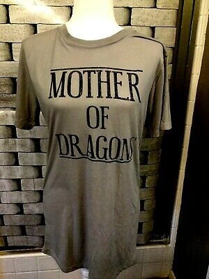 Women's Official Game Of Thrones Gray T-shirt. Size M