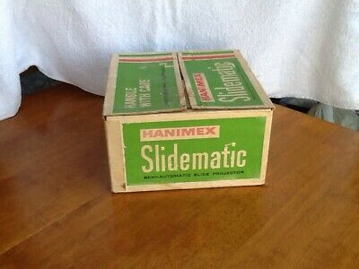 Slidematic Projector With Working Light Hanimex