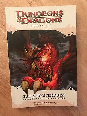 Rules Compendium D&D Essentials Dungeons & Dragons 4e 4th edition