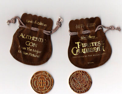 Pirates of the Caribbean Movie Prop Coin