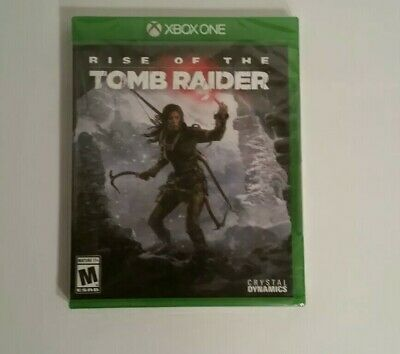 Rise of the Tomb Raider Xbox One [Brand New] SEALED
