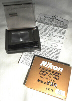 Nikon Focusing Screen for FE2 Film Camera