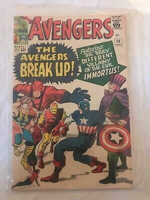 Marvel Comics - The Avengers 10 November (1964) Officially rated 8.0