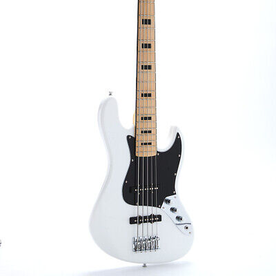 New 5 Strings Electric Bass Guitar Jazz Bass C Neck ST Bass Vintage Style Pickup