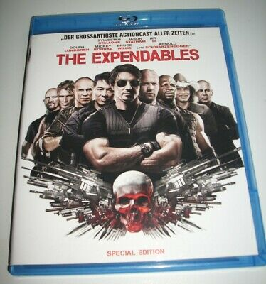 The Expendables -   UNCUT  Stallone / Statham / Lundgren  NEU  Bluray Disc