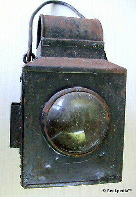 V R Victorian Railway Vintage Collectable Old Kerosene  Lantern