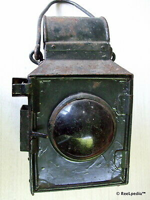 VICTORIAN RAILWAY V R Vintage Collectable old Kerosene Lantern