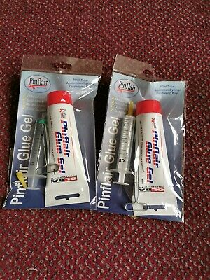 PINFLAIR Glue x2 80ml + With 2 x Syringes