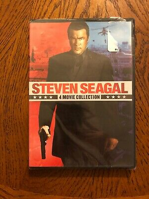 Steven Seagal 4-Film Collection DVD New Sealed (Case Damaged)