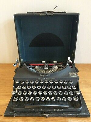 Vintage IMPERIAL The Good Companion Typewriter Original Case Available Worldwide