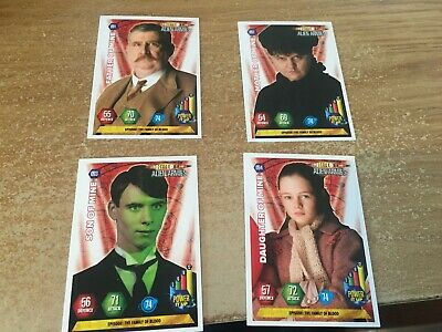 Father Mother Son Daughter of Mine Panini Doctor Who Alien Armies 2004 card set