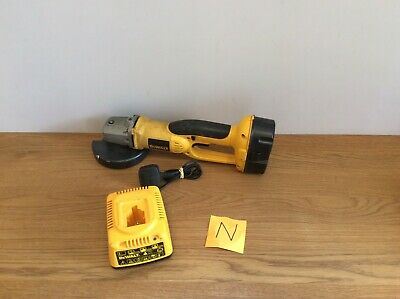 Dewalt Dc410 18V Cordless Angle Grinder With Battery And Battery Charger