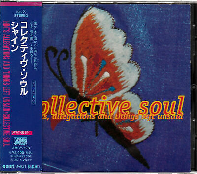 Collective Soul / Hints,Allegations And Things Left Unsaid Japan Cd Oop W/Obi