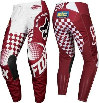 2019 Fox CARDINAL 180 Motocross MX Race OffRoad Pants RED Adults