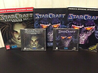 STARCRAFT WITH BROOD War Expansion Pack PC Brand New Factory Sealed