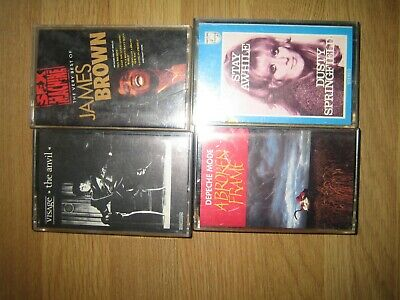 4 cassette , VISAGE & JAMES BROWN & DUSTY SPRINGFIELD & DEPECHE MODE