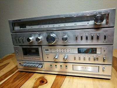 Soundesign Stereo Receiver & Cassette Recorder & 8 Track Player Model 5959