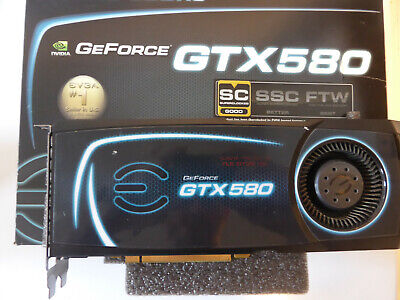 EVGA NVIDIA GeForce GTX 580 Superclocked (1536 MB) (015-P3-1582-KR) Grafikkarte
