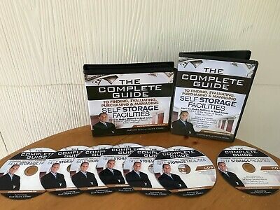 Self Storage Real Estate Investing Home Study System By Scott Meyers - 7 Cd Set!