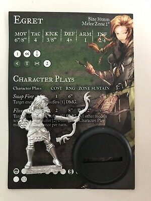 Egret - Hunter's Guild, Limited Edition, BNIB, Guild Ball