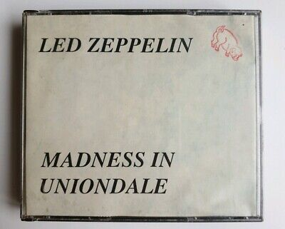 led zeppelin live   4 cd set  madness in uniondale new york 1972