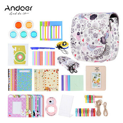 Andoer 14 in 1 Kit accessori per Fujifilm Instax Mini 8/8 + / 8s / 9 w / E4S0