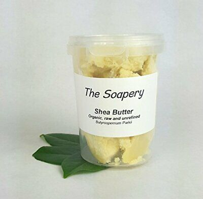 Shea butter 250g - Certified Organic, Unrefined, Raw, Natural - 100 Pure