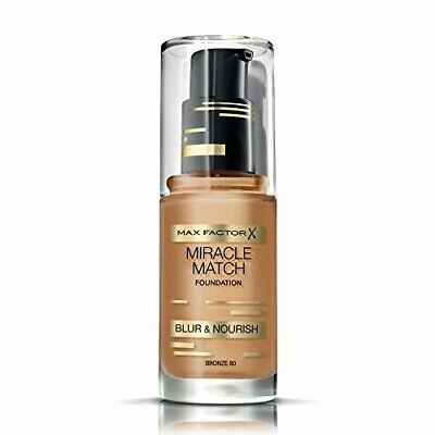 Max Factor Miracle Match Blur  Nourish Foundation, Bronze 80