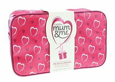 Cussons Mum and Me Bump Gift Pack Stretch Mark Cream 50ml,Body Lotion 100ml, Ba