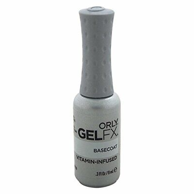 Orly GelFx Nail Lacquer Manicure Infused with Vitamin A and E, Base Coat Gel 9 m