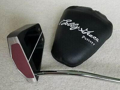 "Mint!  Bobby Grace ""Amazing Grace"" putter, RH, 35"", heel-shafted, w/head cover"