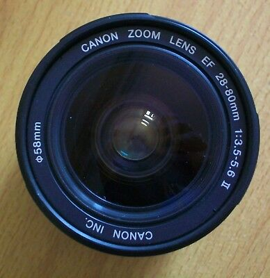 Canon EF 28-80mm F 3.5-5.6 mark 2 ( 11 ii ) USM Lens VGC EOS digital / Film RARE