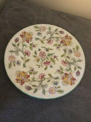 Vintage Minton Haddon Hall Patterned Bone China Tea Plate by John Wadsworth