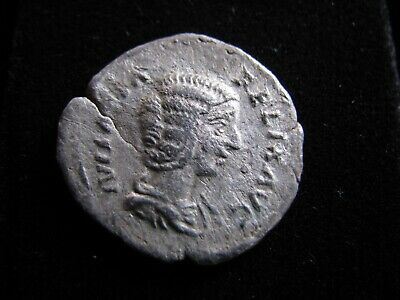 Genuine Ancient Roman Silver Coin,Unresearched Empress,Some Good Detail