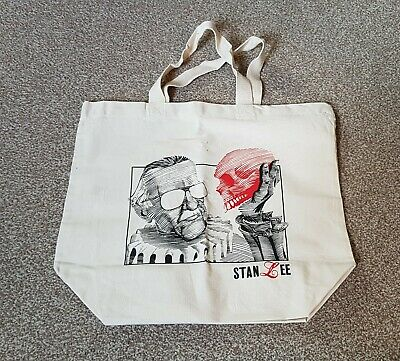 Exclusive Stan Lee and Red Skull Canvas Tote Bag - Brand new