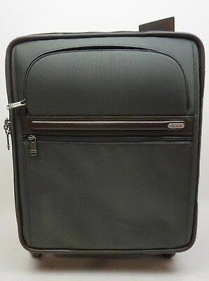"""Tumi 22061GYBOP 4-Wheel Continental Extensible 21 """" Bagage à Main Valise Vert."""