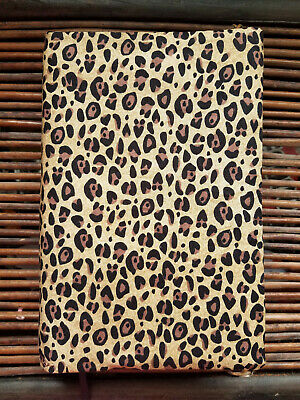 Big Book Cover - Alcoholics Anonymous - Leopard Print