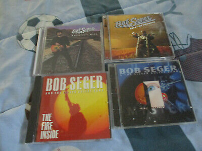 Bob Seger 4 CD Lot  Greatest Hits, Face The Promise, Fire Inside, Mystery + gift